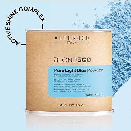Осветляющий порошок BlondEgo Pure Light BLUE POWDER Alter Ego 500 г