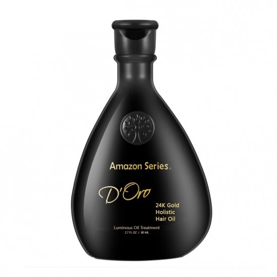 Маска 24К золота D'Oro 24K Gold Age Defying Conditioner Amazon Series