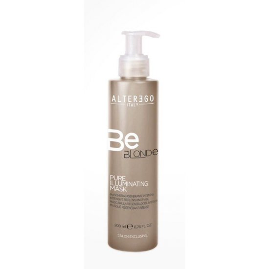 Маска для блондинок BeBlonde PURE ILLUMINATING MASK Alter Ego