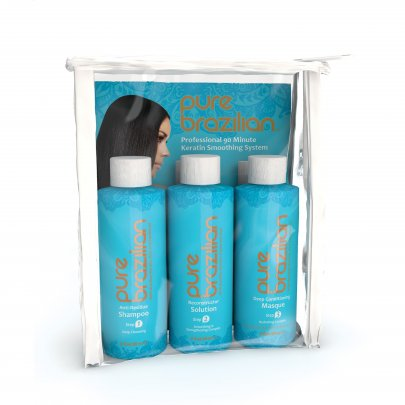 Пакет минимум для пробы Stylist Mini-Starter Kit Pure Brazilian 3 * 60 мл